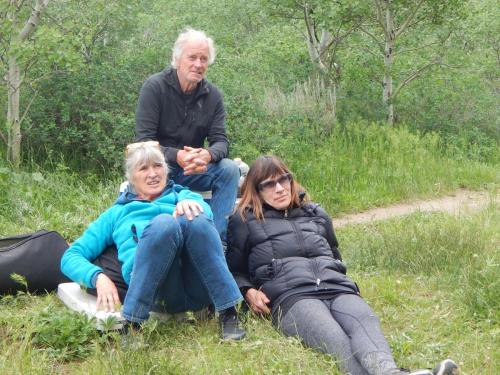 Susan, Christine, Steve